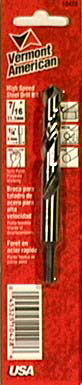 """Vermont American 10428 7/16"""" Reduced Shank High Speed Steel Drill Bits"""""""