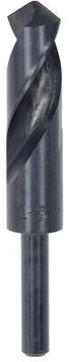 Vermont American 10564 1IN Reduced 1/2IN Shank HighSpeed Steel Drill Bit