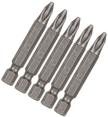 "Vermont American 16402 1-15/16"" Ice Bitª #2 Phillips Power Bits 5 Count"""