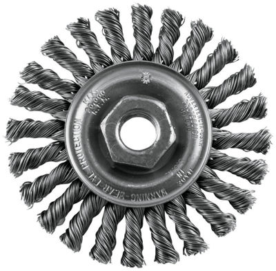 "Vermont American 16836 4"" Twisted Industrial WireWheel"""