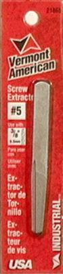 Vermont American 21865 #5 Straight Flute Screw Extractors