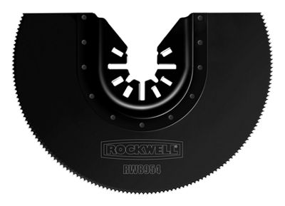 Worx Rw8954 4IN Universal Fit Extended Life Hss Semicircle Saw Blade