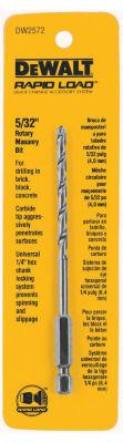 Dewalt DW2572 5/32IN Rotary Masonry Drill Bits