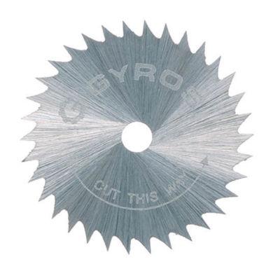 Gyros Tools 81-21015 1IN Course Gyros Steel Saw Blade