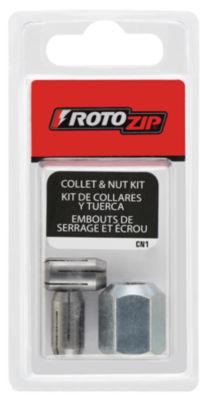 Rotozip Cn1 Collet & Nut Kit