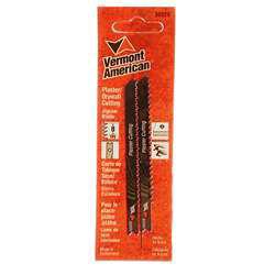 Vermont American 30029 3-5/8 Drywall Cutting U-Shank Jig Saw Blade