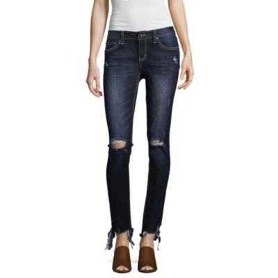 Zco Jeans Skinny Fit Jeggings-Juniors