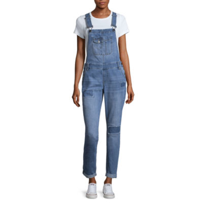 Blue Spice Patch Overalls-Juniors