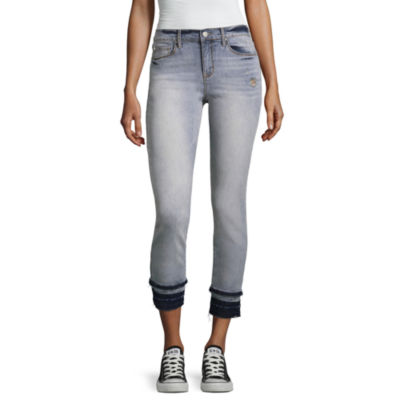 Us Polo Assn. Mid Rise Juniors Cropped Pants