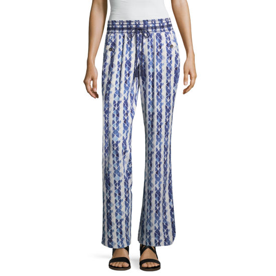 Rewash Crepe Pull-On Pants-Juniors