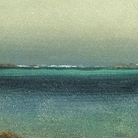 Tropical Coast Canvas Art