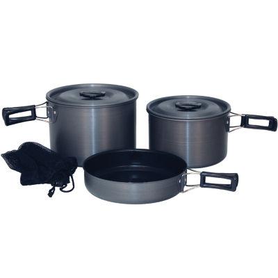 Tex Sport Black Ice Cook Set H.A. QT Trailblazer