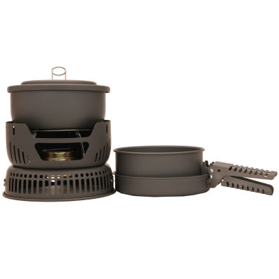 Chinook Hard Anodized Stove/Cookset - 9-Piece