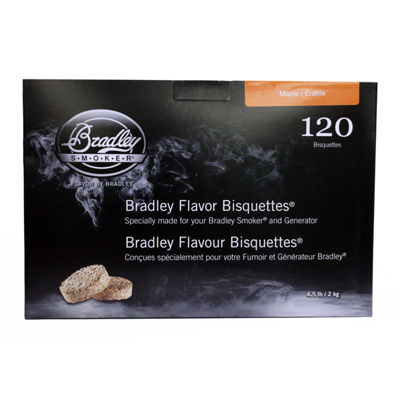 Bradley Smokers Smoker Bisquettes Maple (120 Pack)
