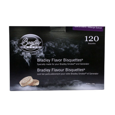 Bradley Smokers Bisquettes Special Blend (120 Pack)