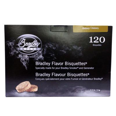 Bradley Smokers Smoker Bisquettes Hickory ( 120 Pack)