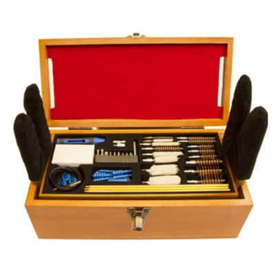Gunmaster 50 Piece Wooden Cleaning Station Kit