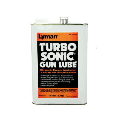 Lyman Ultrasonic Barrel/Gun Parts Lubrication (1 Gal)