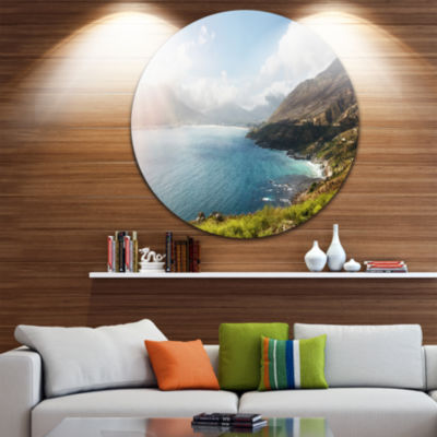 Design Art Hout Bay View from Chapman s Peak DiscAbstract Metal Artwork