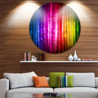 Design Art Glowing Background Abstract Metal Artwork