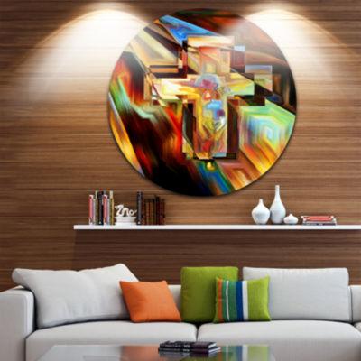 Design Art Light of the Cross Abstract Metal Artwork