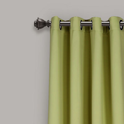 Lush Décor Insulated Grommet Blackout Curtain Panels Set