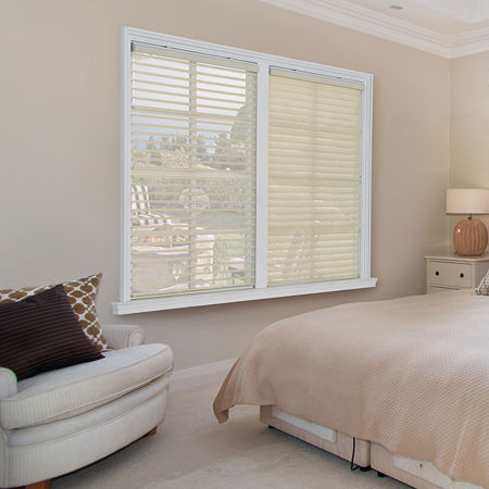 JCPenney Home Horizontal Light-Filtering Cordless Sheer Shades, One Size , Beige