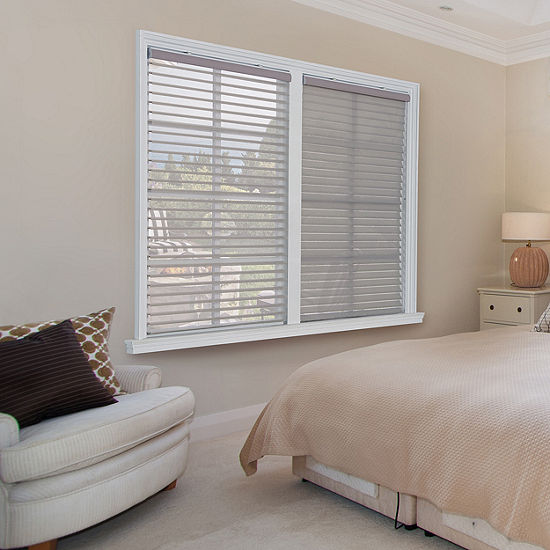JCPenney Home Horizontal Light-Filtering Cordless Sheer Shades