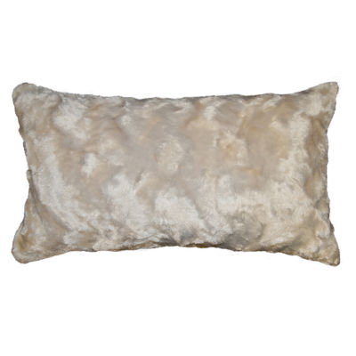 Marbeled Rectangular Throw Pillow