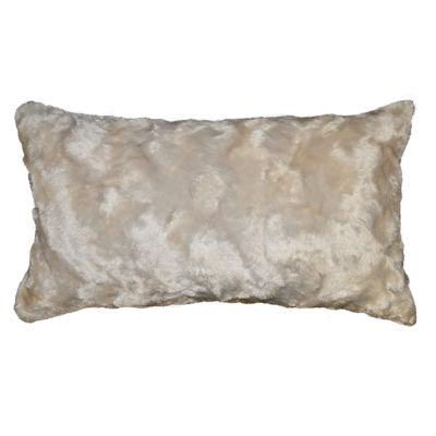 Marbeled Rectangular Throw Pillow