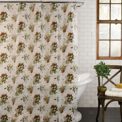Excell Home Fashions Peonia Shower Curtain