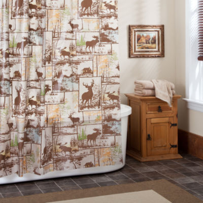 Adirondack Peva Shower Curtain