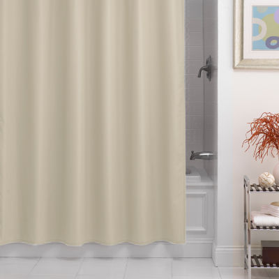 Dobby Fabric Woven Shower Curtain Liner