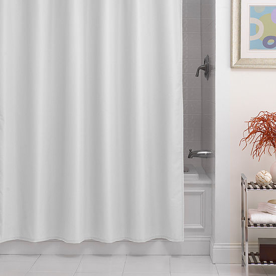 Dobby Fabric Shower Curtain Liner Woven Shower Curtain Liner - JCPenney