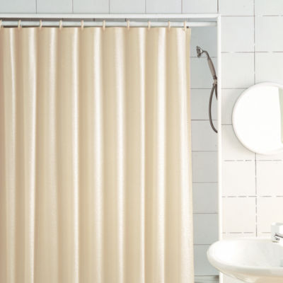 Excell Home Fashions Glitter Shower Curtain