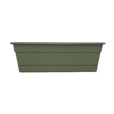 "Bloem Dura Cotta Window Box 18"" Planter"""