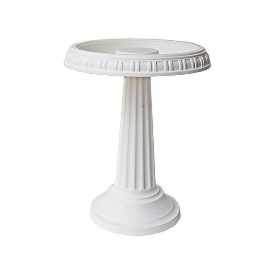 "Bloem Grecian Bird Bath with Pedestal - 24"" x 19"