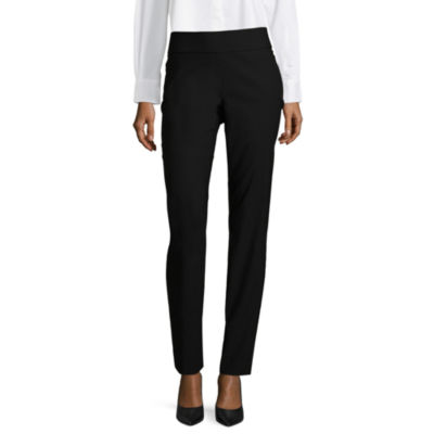 Liz Claiborne Classic Fit Woven Pull-On Trousers