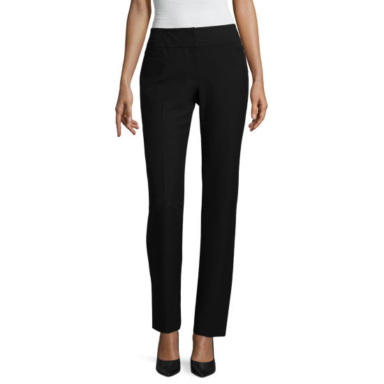 Liz Claiborne Classic Fit Straight Leg Pants