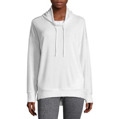 Xersion Womens Long Sleeve Knit Hoodie
