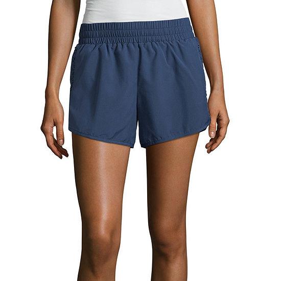 Xersion Womens Mid Rise 3 3 4 Running Short