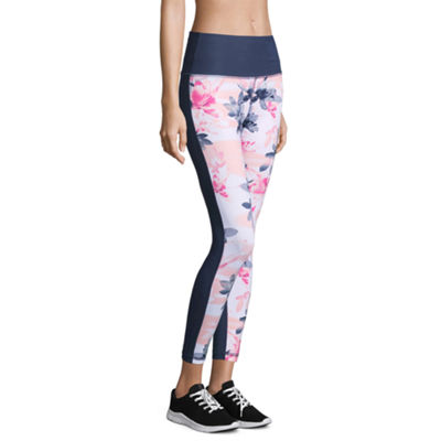 Xersion High Rise 7/8 Print Block Leggings