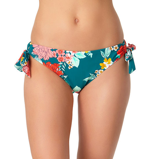 a.n.a. Floral Hipster Bikini Swimsuit Bottom