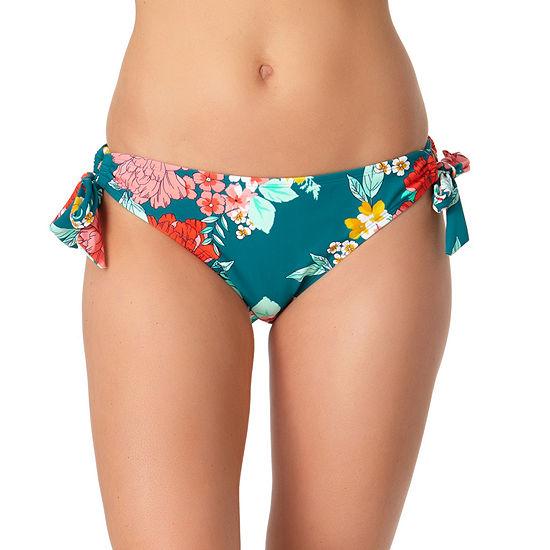a.n.a Floral Hipster Bikini Swimsuit Bottom