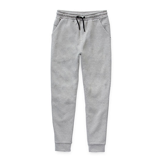 Msx By Michael Strahan Boys Double Knit Jogger Mid Rise Cuffed Jogger Pant - Preschool / Big Kid