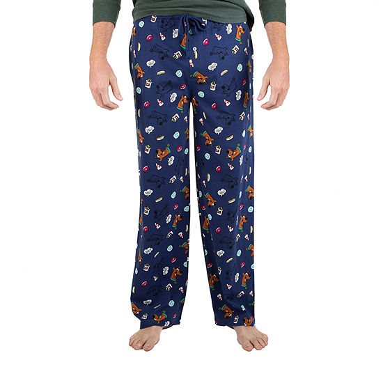 Mens Knit Pajama Pants Scooby Doo