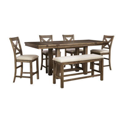 Signature Design by Ashley® Kavarna 5-Piece Counter Height Dining