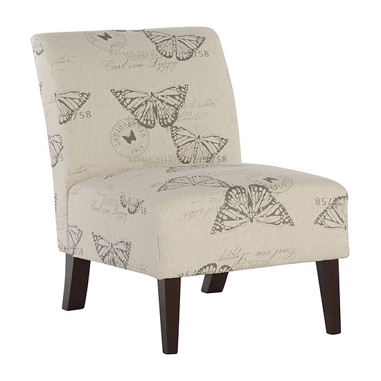 Lily Butterfly Slipper Chair