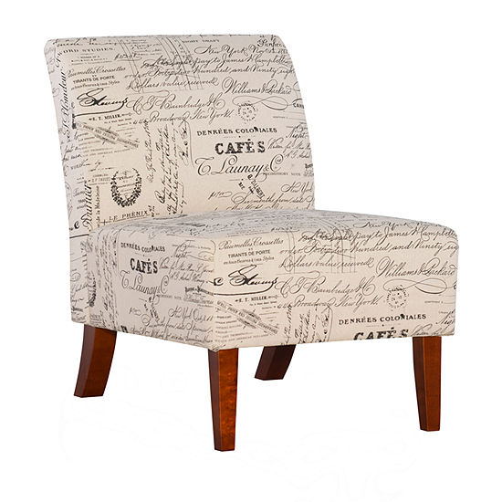 Lily Script Slipper Chair