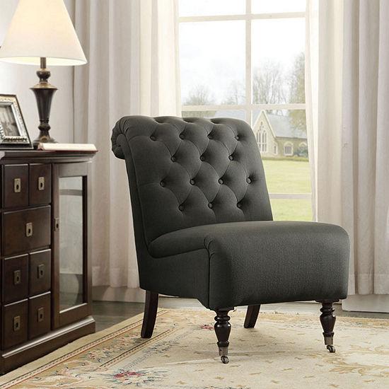 Cora Tufted Slipper Chair
